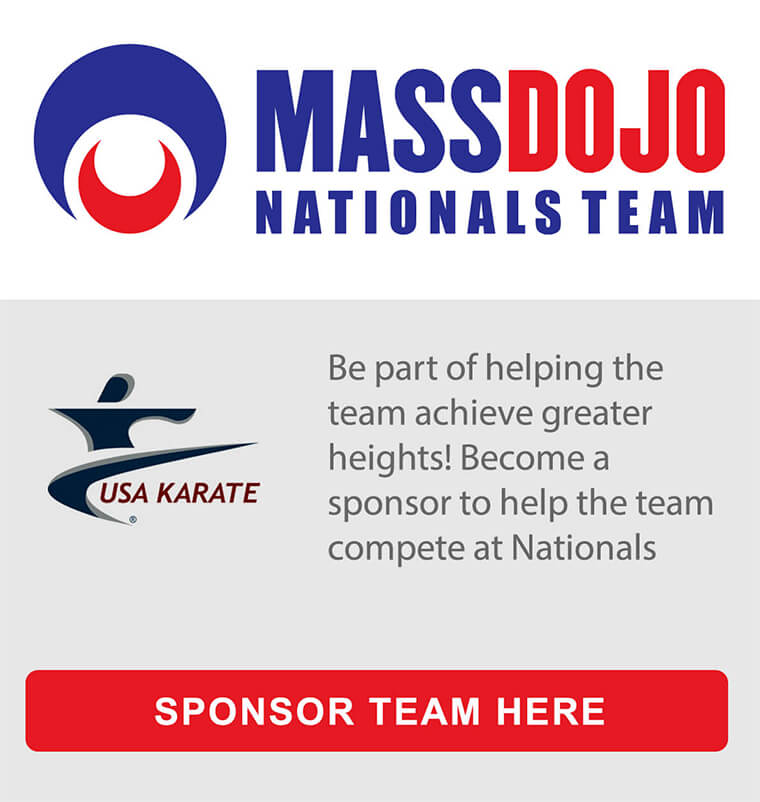 Sponsor MassDojo's National Team